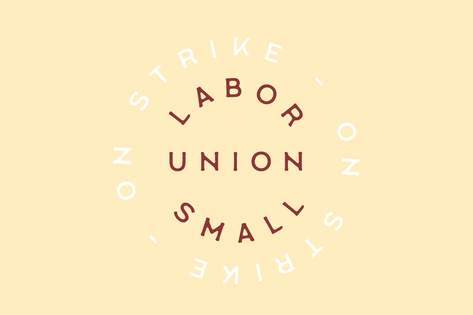 Шрифт Labor Union Small