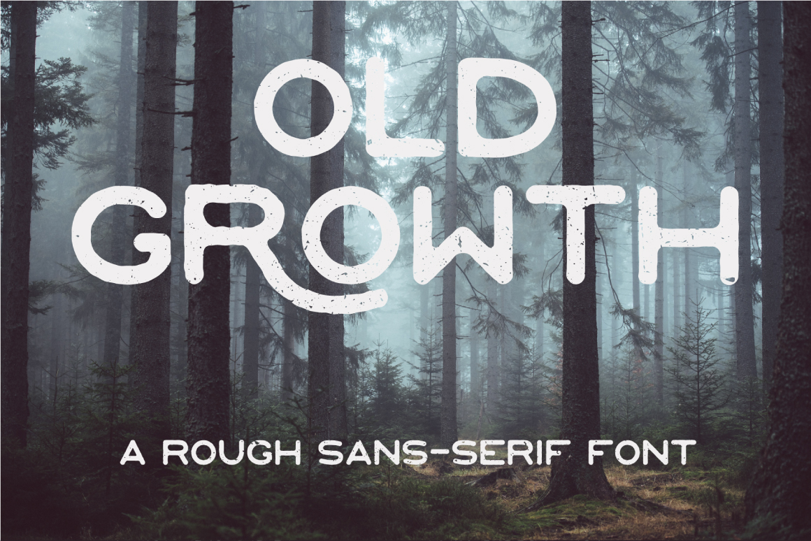 Шрифт Old Growth
