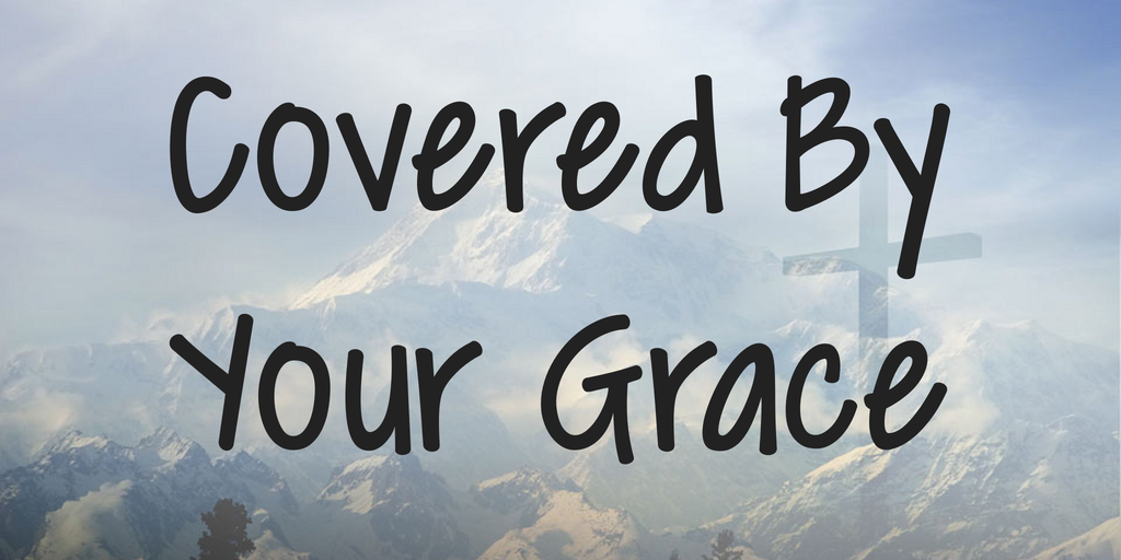 Шрифт Covered By Your Grace