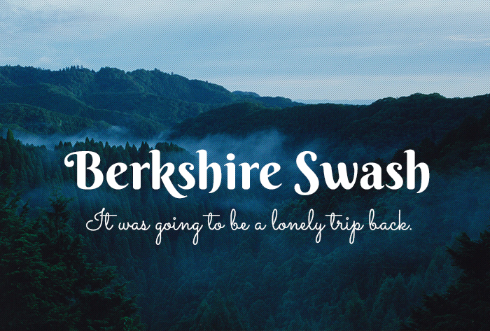 Шрифт Berkshire Swash
