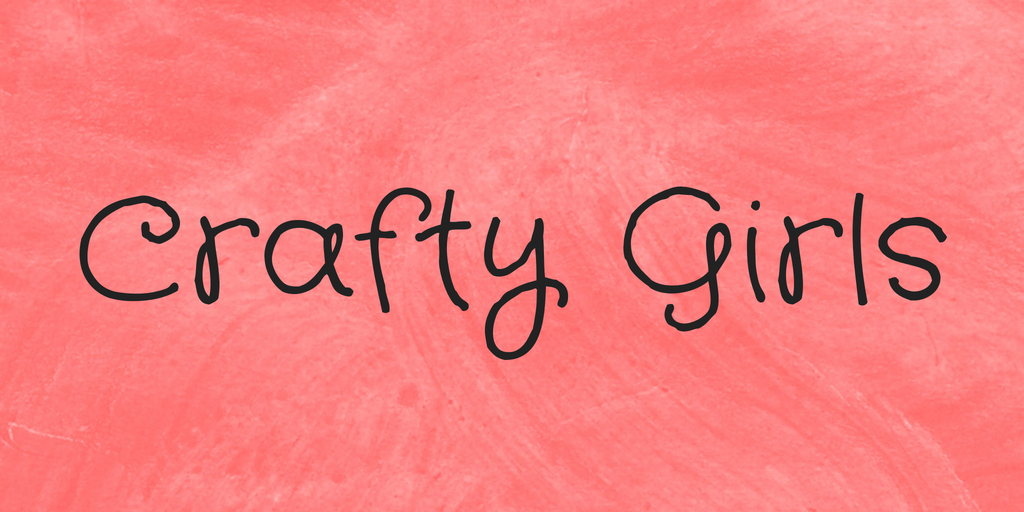 Шрифт Crafty Girls