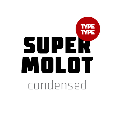 Шрифт TT Supermolot Condensed