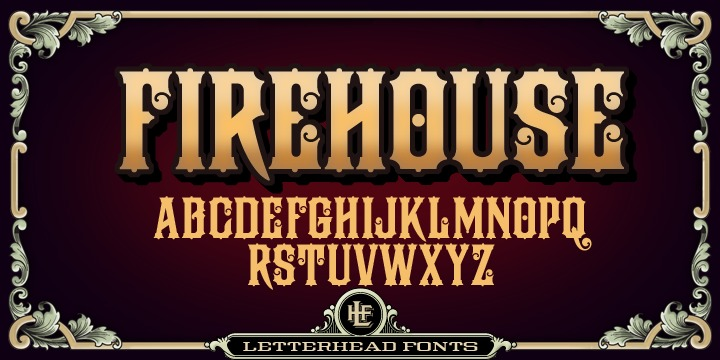 Шрифт LHF Firehouse