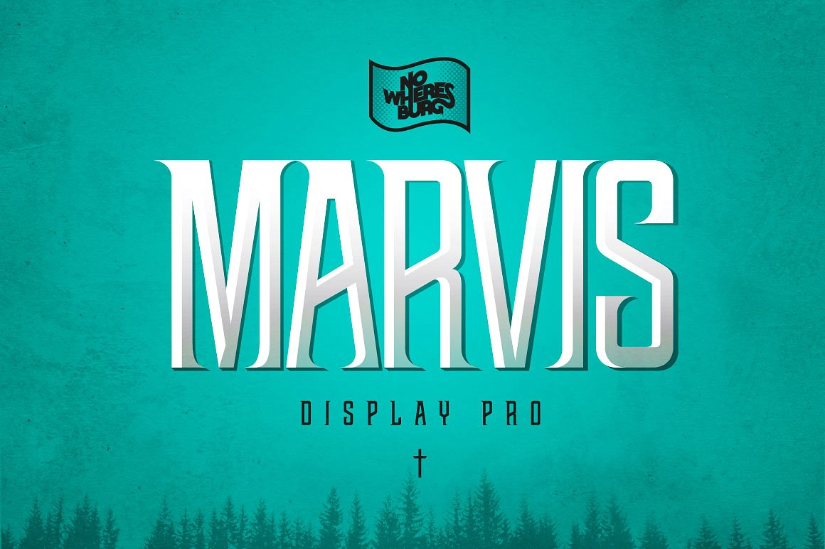 Шрифт NWB Marvis Display Pro