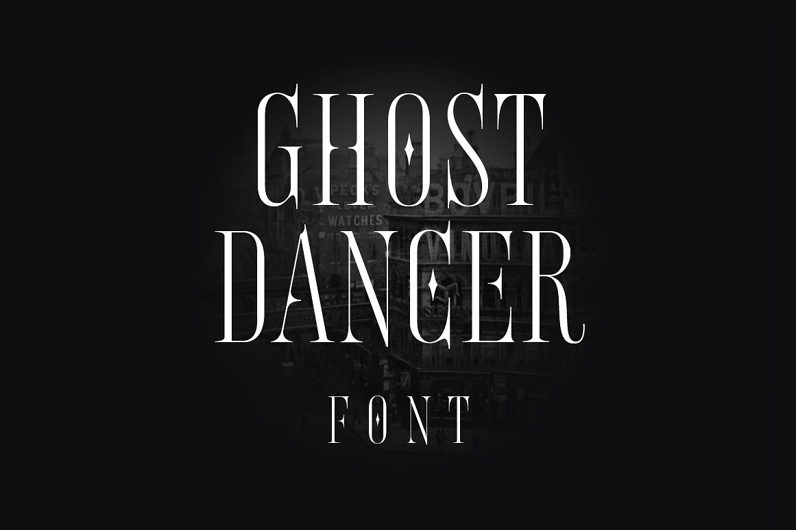 Шрифт Ghost Dancer