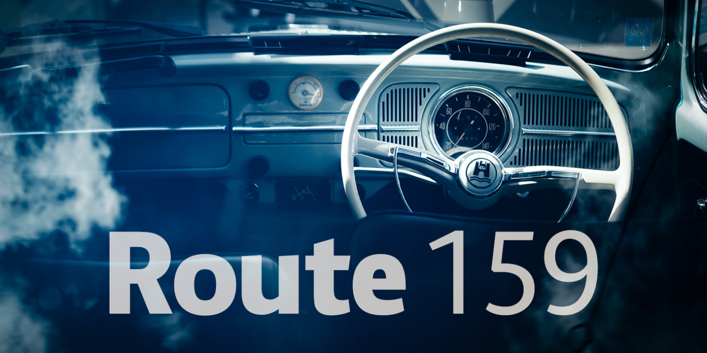 Шрифт Route 159