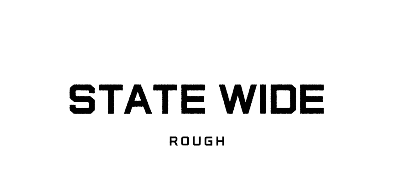 Шрифт State Wide Rough