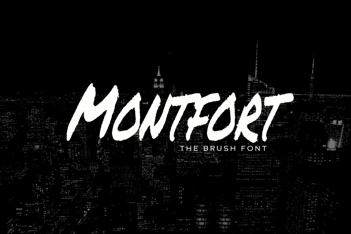 Шрифт Mont Fort