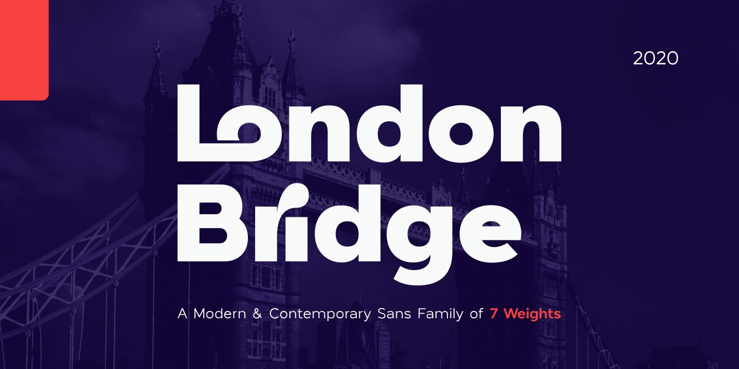 Шрифт London Bridge